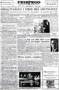 Frisprog 23. mai 1953. Klikk for større versjon