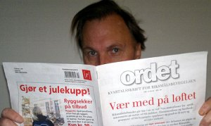 """Jarle leser """"Ordet"""""""