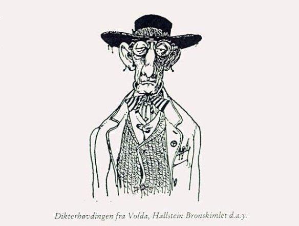 Hallstein Bronskimlet d.a.y. -- dikterhøvding fra Volda