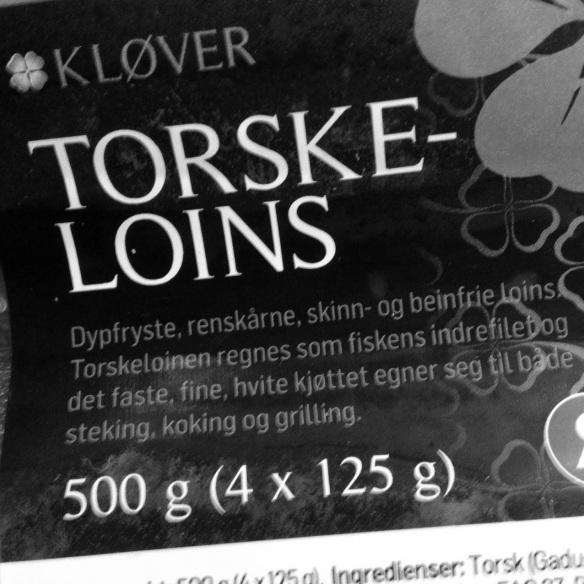 Torskeloins (!) fra Kløver