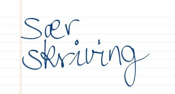 Sær skriving